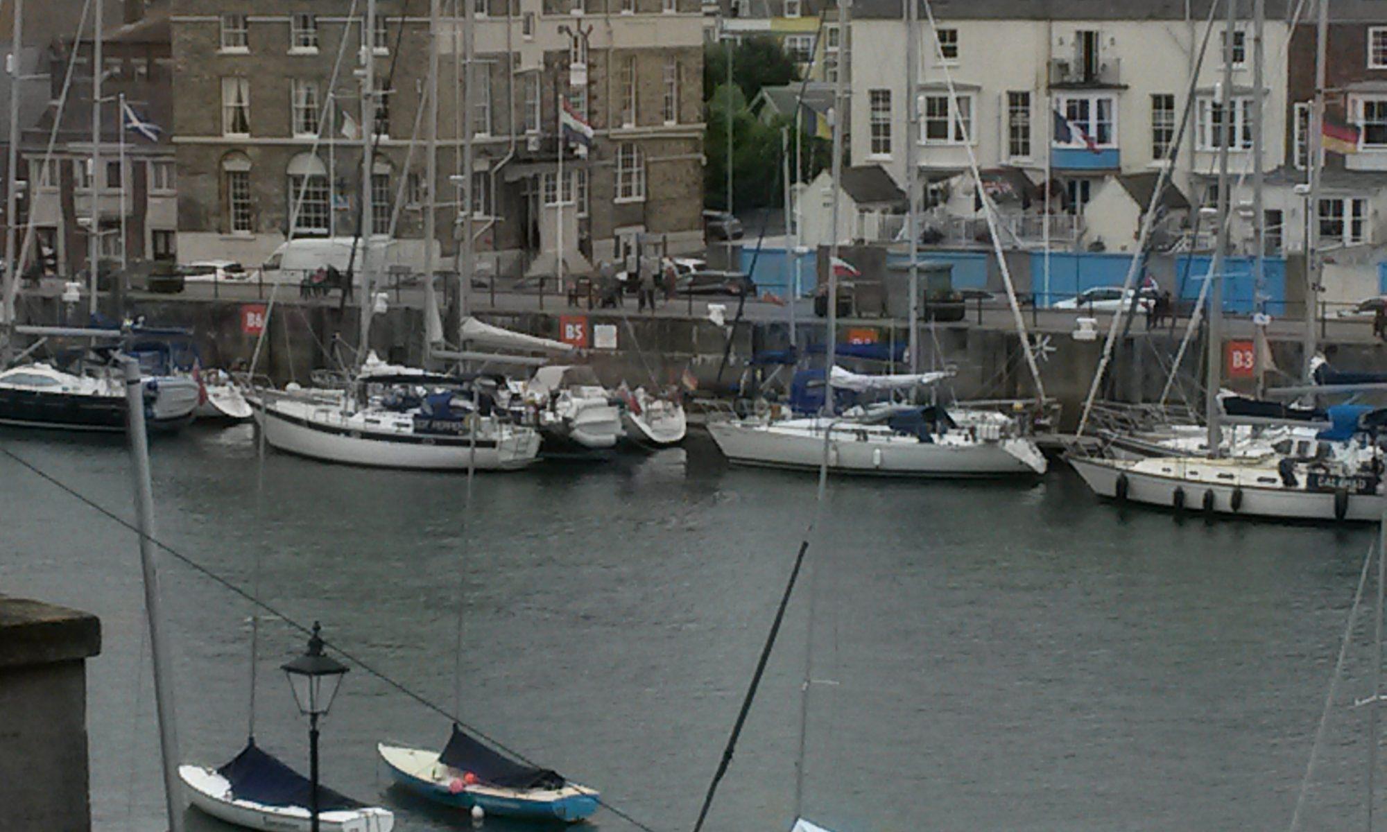 Marina Weymouth - an der Südküste von England, dem Ärmelkanal