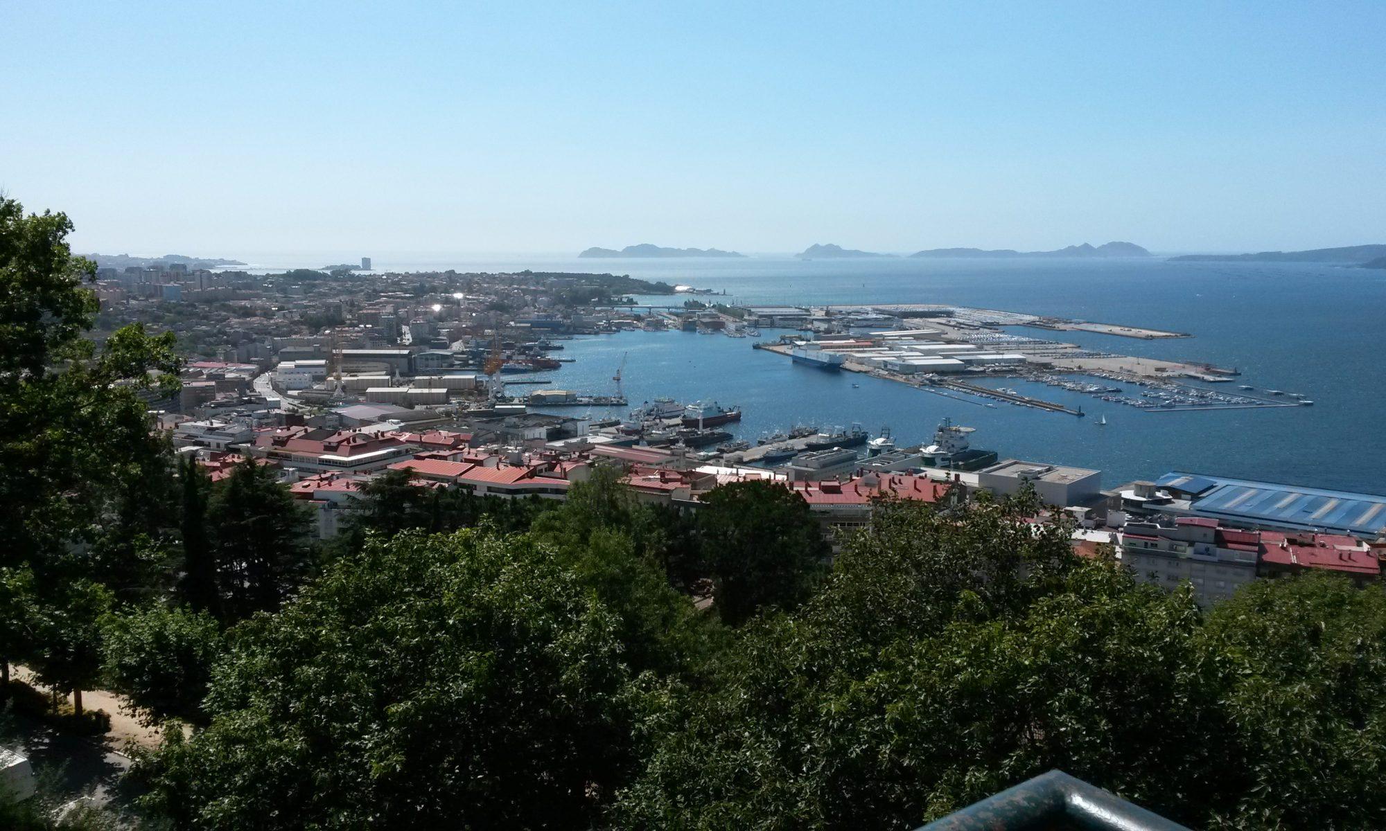 Vigo Marina - an der Atlantikküste von Spanien. Ein spannendes Küstenrevier in Galizien.
