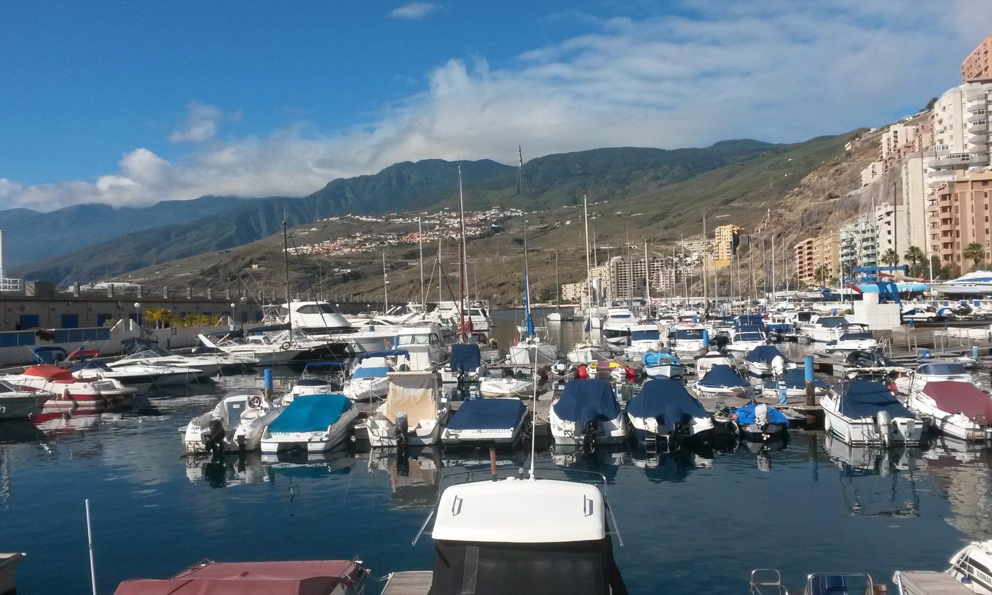Marina Radazul Teneriffa - ein guter Ausgangshafen für Törns - Mein Yacht-Portrait
