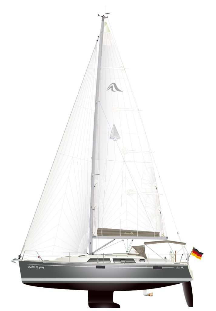 Hanse 350, Baujahr 2009, Crosscat-Groß