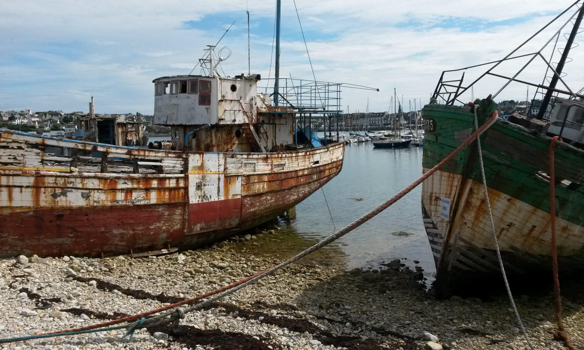 Camaret-sur-Mer in der Bucht von Brest.