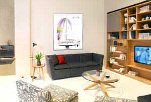 Dekorative Gestaltung von Wohnungswänden